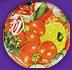 Крышка Твист Офф с рисунком Овощи